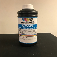 Vanguard VK300D Series | Kyocera KJ4A UV Curable Ink Bottle (1 Liter) Cyan