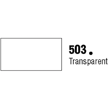 General Formulations 503-30U Unpunched Gloss Vinyl Transparent 30 Inches x 150 Feet