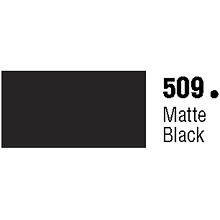 General Formulations 509-30U Unpunched Gloss Vinyl Matte Black 30 Inches x 150 Feet
