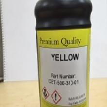 CET Color Yellow 50 Series Ink Bottle (1 Liter)