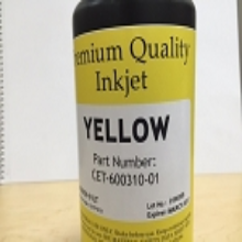 CET Color Yellow 60 Series UV Ink Bottle (1 Liter)