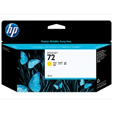 HP 72 Series Yellow 130-ml Designjet Ink Cartridge