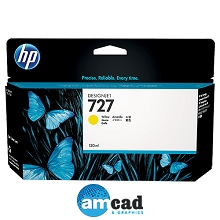 HP 727 130ml Yellow Designjet Ink Cartridge