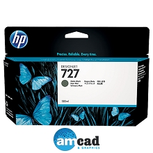 HP 727 130ml Matte Black Designjet Ink Cartridge