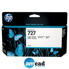 HP 727 130ml Photo Black Designjet Ink Cartridge