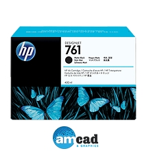 HP 761 400ml Matte Black Designjet Ink Cartridge