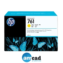 HP 761 400ml Yellow Designjet Ink Cartridge