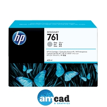 HP 761 400ml Gray Designjet Ink Cartridge