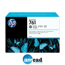 HP 761 400ml Dark Gray Designjet Ink Cartridge