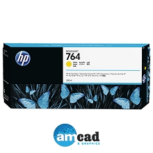 HP 764 300ml Yellow Designjet Ink Cartridge