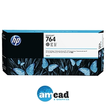 HP 764 300ml Gray Designjet Ink Cartridge