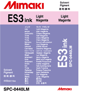 ES3 Solvent Ink Cartridge 440ml Light Magenta