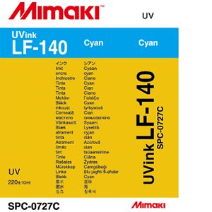 LF-140 UV Curable Ink Cartridge 220ml Cyan