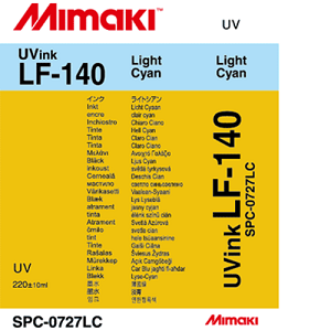 LF-140 UV Curable Ink Cartridge 220ml Light Cyan