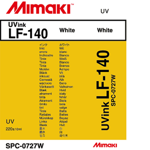 LF-140 UV Curable Ink Cartridge 220ml White