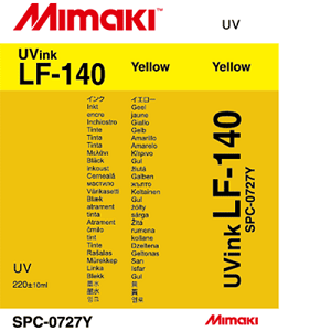 LF-140 UV Curable Ink Cartridge 220ml Yellow