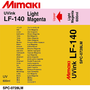 LF-140 UV Curable Ink Pack 600ml Light Magenta