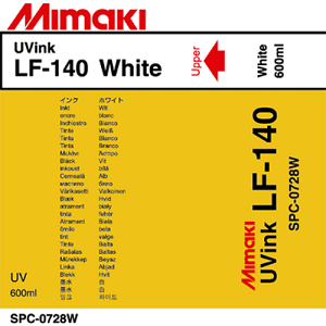 LF-140 UV Curable Ink Pack 600ml White