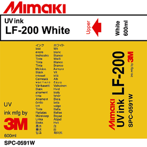 LF-200 UV Curable Ink Pack 600ml White