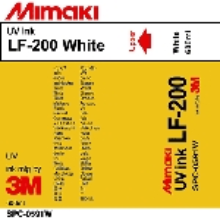 Mimaki LF-200 UV Curable Ink Pack 600ml White