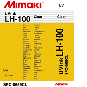 Mimaki LH-100 UV Curable Ink Cartridge 220ml Clear