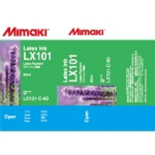 Mimaki LX101 Latex Ink Pack 600ml Cyan