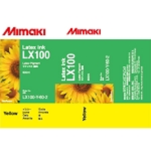 Mimaki LX101 Latex Ink Pack 600ml Yellow