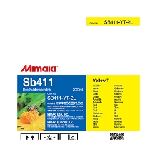 Mimaki SB411 Dye Sublimation Ink Pack 2000ml Yellow T