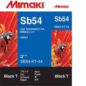 SB54 Dye Sublimation Ink Cartridge 440ml Black