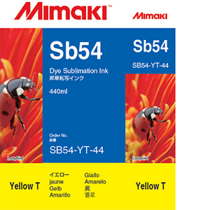 SB54 Dye Sublimation Ink Cartridge 440ml Yellow