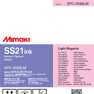 SS21 Solvent Ink Pack 2,000ml Light Magenta