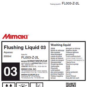 Flushing Liquid 03 2 Liter Pack