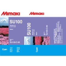 Mimaki SUV Solvent UV Ink Pack 600ml Cyan