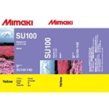 Mimaki SUV Solvent UV Ink Pack 600ml Yellow