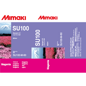 Mimaki SUV Solvent UV Ink Pack 600ml Magenta