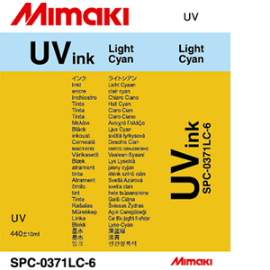 UV Curable Ink Cartridge 440ml Light Cyan