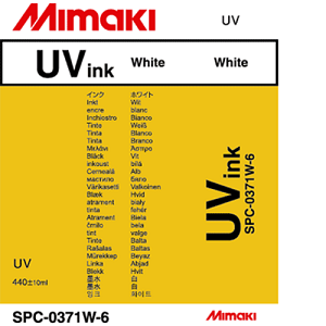 UV Curable Ink Cartridge 440ml White