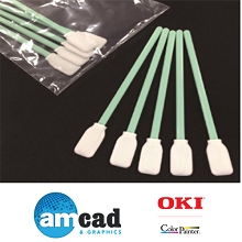 OKI Data ColorPainter Cleaning Swab (Thick) (120 Pieces)