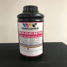 VK300D Series | Kyocera KJ4A UV Curable Ink Bottle (1 Liter) Magenta