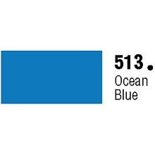 Unpunched Gloss Vinyl Ocean Blue 30 Inches x 150 Feet