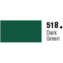 Unpunched Gloss Vinyl Dark Green 30 Inches x 150 Feet