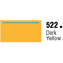 General Formulations 522-48 Unpunched Gloss Vinyl Dark Yellow 48 Inches x 150 Feet