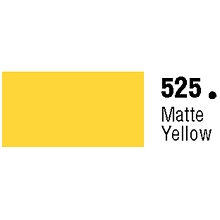General Formulations 525-30U Unpunched Gloss Vinyl Matte Yellow 30 Inches x 150 Feet