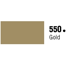 General Formulations 550-30U Unpunched Gloss Vinyl Gold 30 Inches x 150 Feet