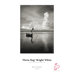 Photo Rag Bright White 310gsm 36 Inches x 39 Feet