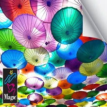 Magic DMCF4EN Inkjet Clear Film 4 Mil 36 Inches x 100 Feet