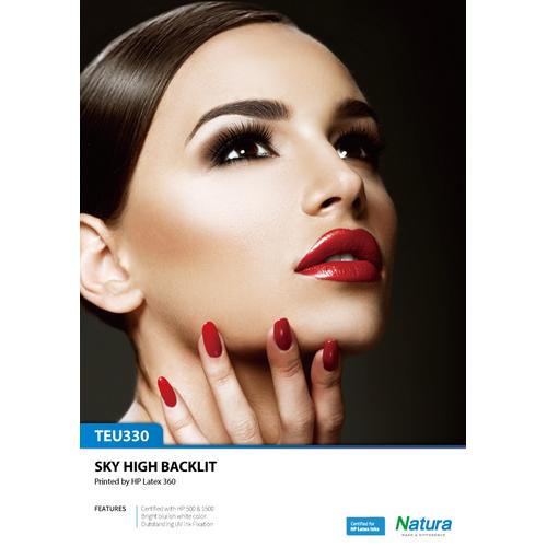 Natura TEU330 UV SKY Backlit Matte - Amcad & Graphics