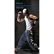 Natura ES420 Duratin Block Out Banner Semi-Glossy 250 10.4mil 36 Inches x 100 Feet