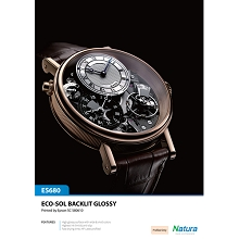 Natura ES680 Eco-Solvent Backlit Glossy 8.4mil 285gsm 36 Inches x 100 Feet