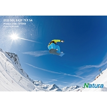 Natura ST600G Eco-Solvent Easy Tex SA (Grey) 330gsm 13.2mil 36 Inches x 100 Feet